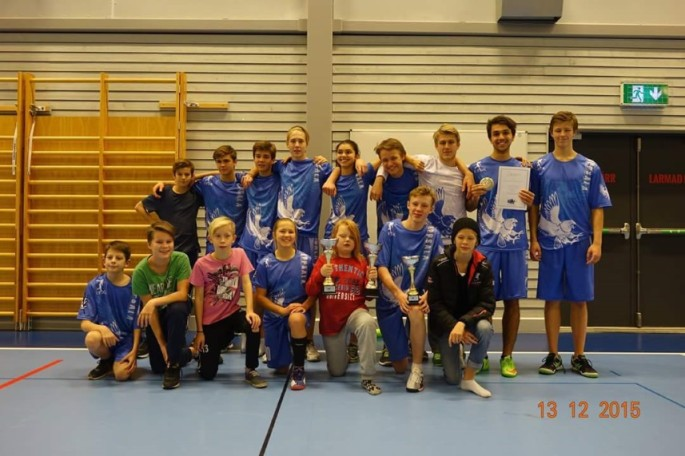Uppsala Ultimate Frisbee U17 Svenska Mästare. Ekolagen grattar!