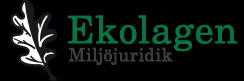 Ekolagen Miljöjuridik